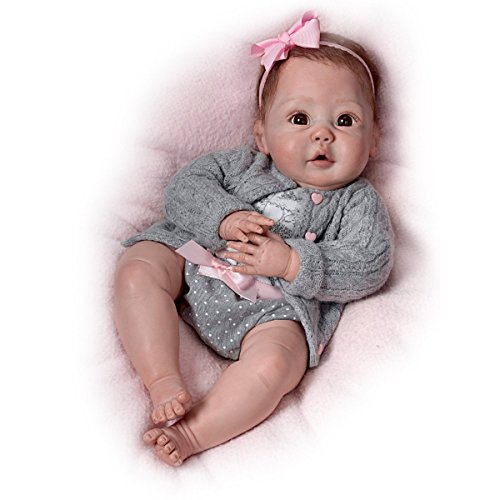 Cuddly Coo! Coos When Cuddled - So Truly Real Lifelike, Interactive & Realistic Baby Doll 18-inches  by The Ashton-Drake...