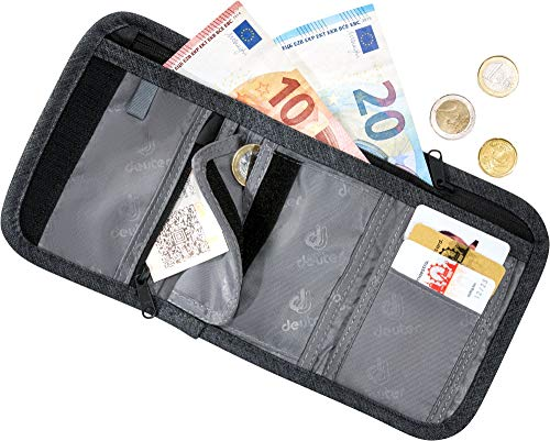 Deuter Travel Wallet, Unisex Adult Backpack Grey Size: One Size