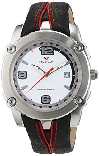 Viceroy Reloj analogico para Hombre de Cuarzo con Correa en Piel 40231-05