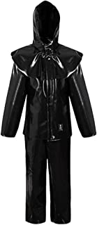 Pros AJ-UK412_B60 zuurbestendige kleding, zwart, 60 maat