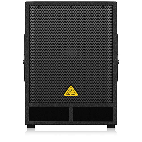 Behringer Eurolive VQ1500D Black–Portable Speakers (2-Way, 38.1cm, 500W, 40–200Hz, 122db, Wired)