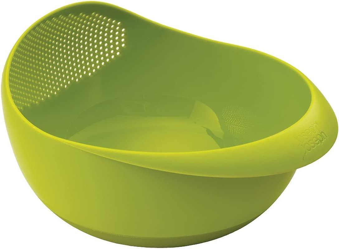 Joseph Joseph 40063 Prep Serve Multi Function Bowl With Integrated Colander Large Green