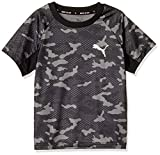 [プーマ] 半袖シャツ Active Sports AOP Poly ボーイズ プーマ ブラック (01) 日本 120 (日本サイズ120 相当)