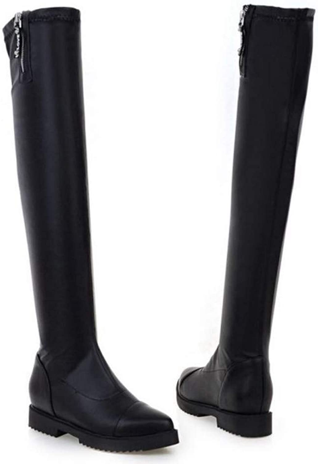 Women Over The Knee Boots Ladies Driving Fashion Long Snow Boot Warm Winter High Heel Cool Footwear shoes