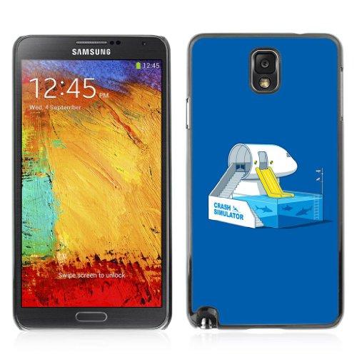 YOYOSHOP [Funny Shark Tank Illustration] Custodia Case Cover per Samsung Galaxy Note 3