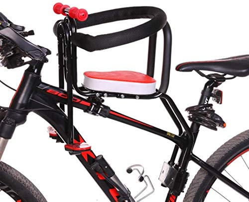 Buy Discount LYYJIAJU Child Seat for Bike Front Mount Quick Dismounting Safety Seat for Bicycle Elec...