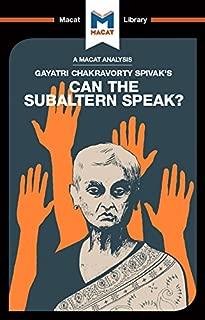 can the subaltern speak by spivak
