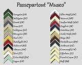 [page_title]-RahmenMax Passepartout MUSEO bis Außenmaß 50,0 x 70,0 cm. Individueller Zuschnitt nach Ihren Angaben - 26 Farben. Aktuelle Auswahl: Cremeweiß