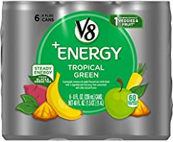 V8 +Energy, Healthy Energy Drink, Natural Energy from Tea