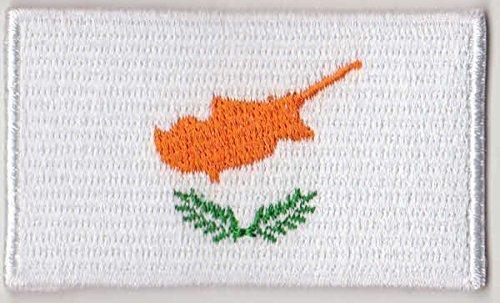 Flaggen Aufnäher Patch Zypern Fahne Flagge - 6 x 3.5 cm