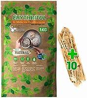 Eritritol 1Kg 100% Natural Edulcorante Cero Calorias DulciLight. Ideal para Reposteria, y Dietas. DulciLight el Sabor...