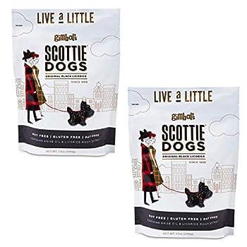 Best gimbals licorice scottie dogs Reviews