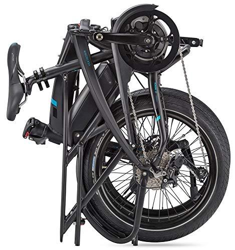 Tern Faltrad Vektron S10 Fahrrad E-Bike 10 Gang Alu 25 km/h Kettenschaltung Shimano 36V 250W, CB19EHSD10HLRLB23 - 4