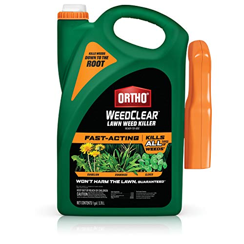 Ortho WeedClear Lawn Weed Killer Ready to Use with Trigger Sprayer: For Northern Lawns, 1 gal.