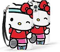"""Hello Kitty ハローキティ iPhone12ケース iPhone12Pro ケース 6.1インチ 対応 高級PUレザー 手帳型 全面保護 軽量 薄型 カード収納 スタンド機能 指紋防止 耐衝撃 おしゃれ かわいい シンプル スマホケース 6.1インチ アイフォン12 /アイフォン12 Pro"""""""