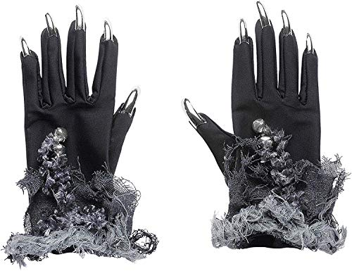 Widmann 7883V - Hexenhandschuhe mit Fingernägeln