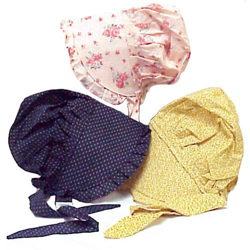 One Bonnet Size Small 100% Cotton Color Varies - http://coolthings.us