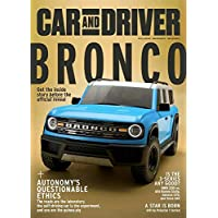 Car and Driver Magazine Subscription 4 Yr 48 Issues Deals