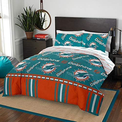 Miami Dolphins NFL Photo Real Toss Pillow (18x18 )