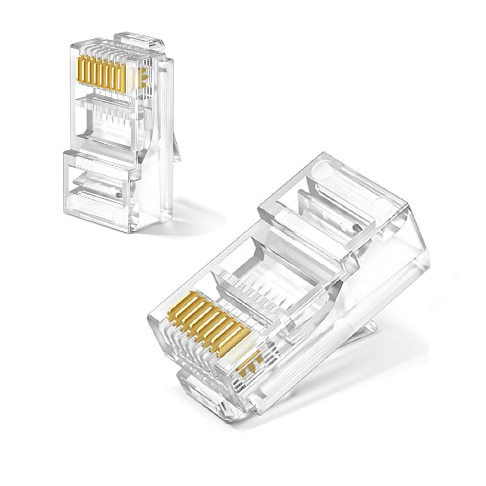 RJ45 Connectors Cat6 Cat5 Cat5e 67% OFF of fixed price Connector Charlotte Mall
