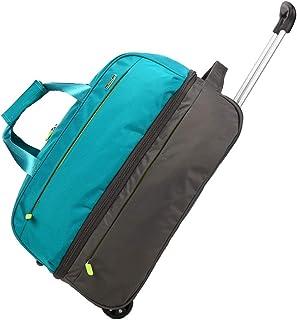 ZHANGQIANG ハンドトラベル荷物トロリーケース 軽量2つの車輪旅行手持ちの小屋の荷物のスーツケースを運ぶブリティッシュ・エアウェイズのライアンエアーなど (色 : Turquoise green, サイズ さいず : 20 inches)