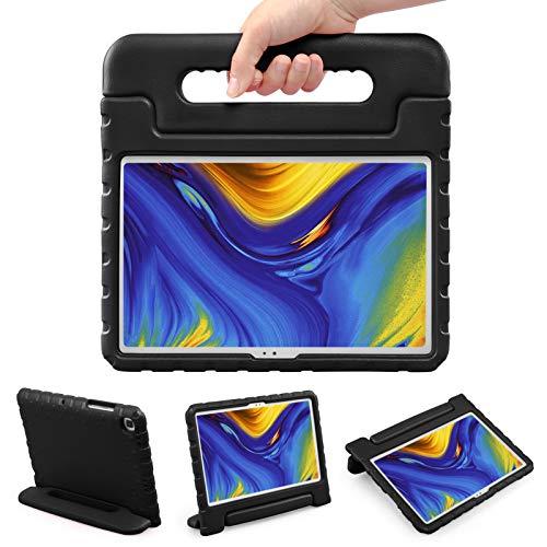 LEADSTAR Protettiva Custodia per Samsung Galaxy Tab A7 10.4 2020, Eva Bambini Antiurto Leggero Protettiva Maniglia Cover con Supporto per Bambini per Galaxy Tab A7 10.4 Inch SM-T500/ T505/ T507 (Nero)