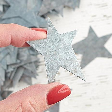 Factory Direct Craft 100 Galvanized Metal Primitive Stars
