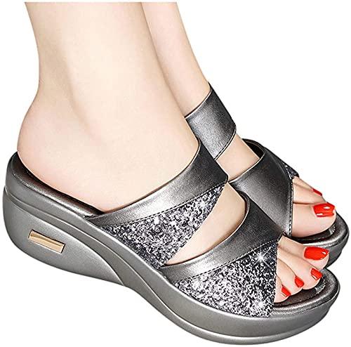 Sandalias Con Plataforma  marca QAZW
