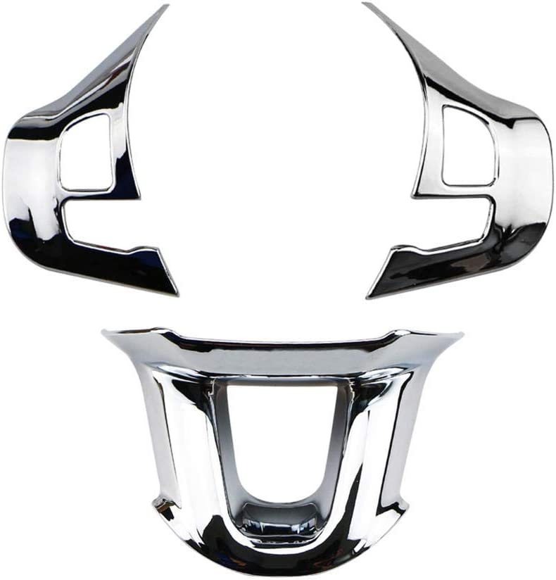 KDABJD Car Steering Wheel Sequins All items in the store ABS Style Chrome-Plated latest car