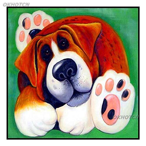 YWOHP Cartel de impresión de Cachorro de Dibujos Animados S