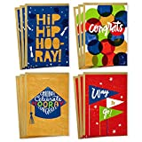 Hallmark Congratulations Card and Graduation Card Assortment (Boxed Set of 12 Cards with Envelopes)