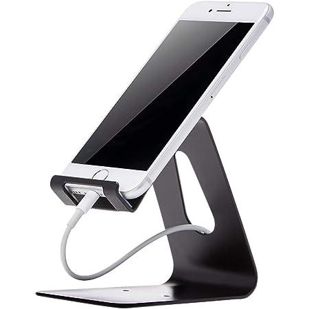 Amazon Basics Support de téléphone portable pour iPhone et Android | Noir