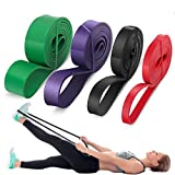 LEEKEY Resistance Band Set, Pull Up Assist Bands - Stretch...