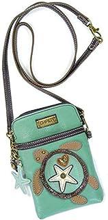 Crossbody Cell Phone Purse – Women PU Leather Multicolor Handbag with Adjustable Strap