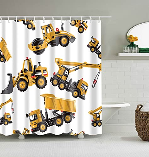 HUIPJN DuschvorhangNeuer Cartoon-Muster-Maus-Duschvorhang Wasserdichter niedlicher Tier-Duschvorhang mit Haken für Badezimmer-Dekor-Geschenke