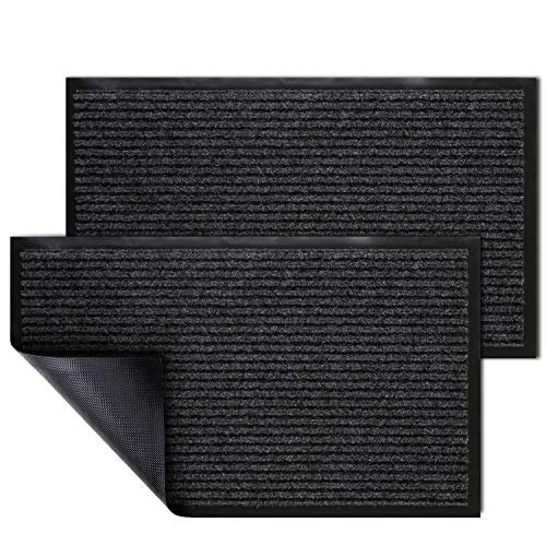 KMAT 2 Pack Door Mat Outdoor Indoor