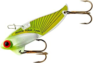 Heddon Rattling Sonar Flash Lure's (Chartreuse, 2 3/8-Inch, 1/2-Ounce)