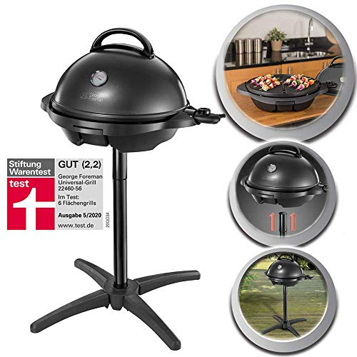 George Foreman 22460-56 Barbecue Grill 2000W,...