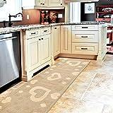 Zoom IMG-1 emmevi tappeto cucina antiscivolo cuori