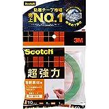 スコッチ(R) 超強力両面テープ 透明素材用 19 4STD-19