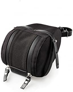 Brooks Isle of Wight Saddle Bag, Black/Black, Large