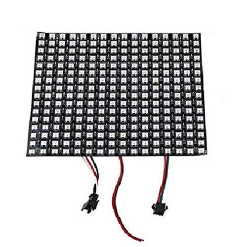 Farfly 16X16 SK6812 WS2812B Adressierbarer Flexibler LED Panel Bildschirm Digitaler Bildschirm DC5V