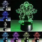 Creative Hulk Night Light Farbverlauf Tischleuchte Boy Boy Geschenk