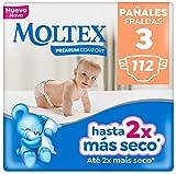 Moltex Premium Comfort Pañales Talla 3 (4-10 kg) - 112 Pañales