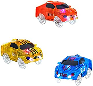 Mindscope Twister Tracks Trax Light-up LED 360 Race Vehicle Series Compatible with All Twister Tracks & Neo Tracks