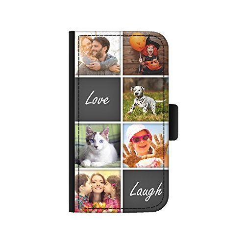 848363091b664 Hairyworm - Personalised 6 Image Collage with Love Laugh Apple Iphone 6  Plus