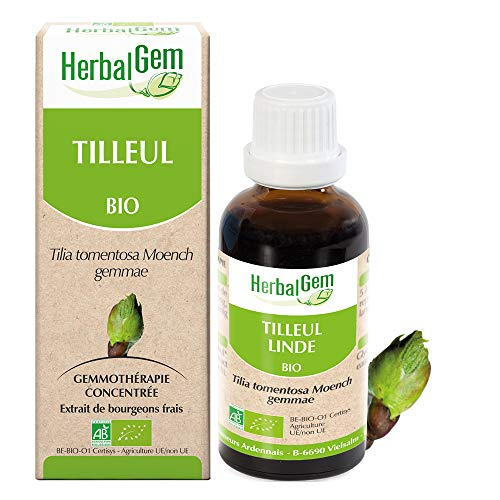 HerbalGem - Tilleul Bio - Macérats-Mères de Gemmothérapie Concentrée - 30 ml