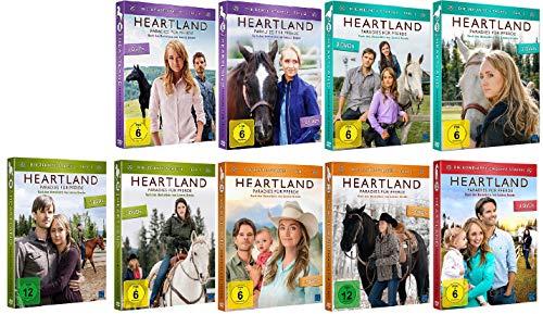 Heartland - Paradies für Pferde Staffel 8-12 (8.1+8.2+9.1+9.2+10.1+10.2+11.1+11.2+12, 8 bis 12) [DVD Set]