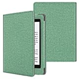 FINTIE Folio Funda para Kindle Paperwhite (Todas Las Versiones, Incluida 10.ª Generación, 2018) - Estilo de Libro Carcasa Antichoque con Función de Auto-Reposo/Activación, (Salvia)
