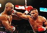 Mike Tyson vs Evander HOLLYFIELD Poster (A2(594x